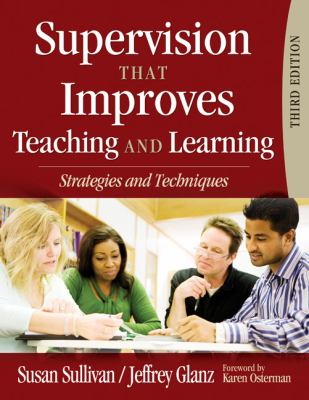 Supervision That Improves Teaching-9781412967136-3-Susan Sullivan; Jeffrey Glanz-Sage Publications, Incorporated